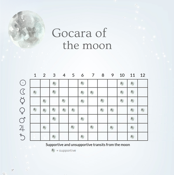 transits from the moon