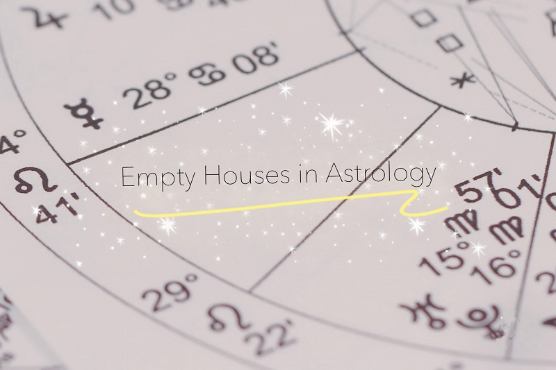 empty house in astrology