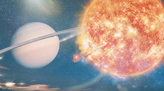 Sun conjunct Saturn