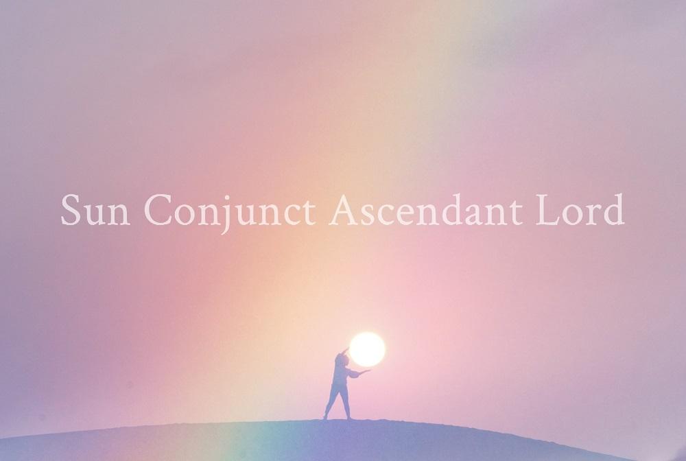ascendant lord conjunct the sun